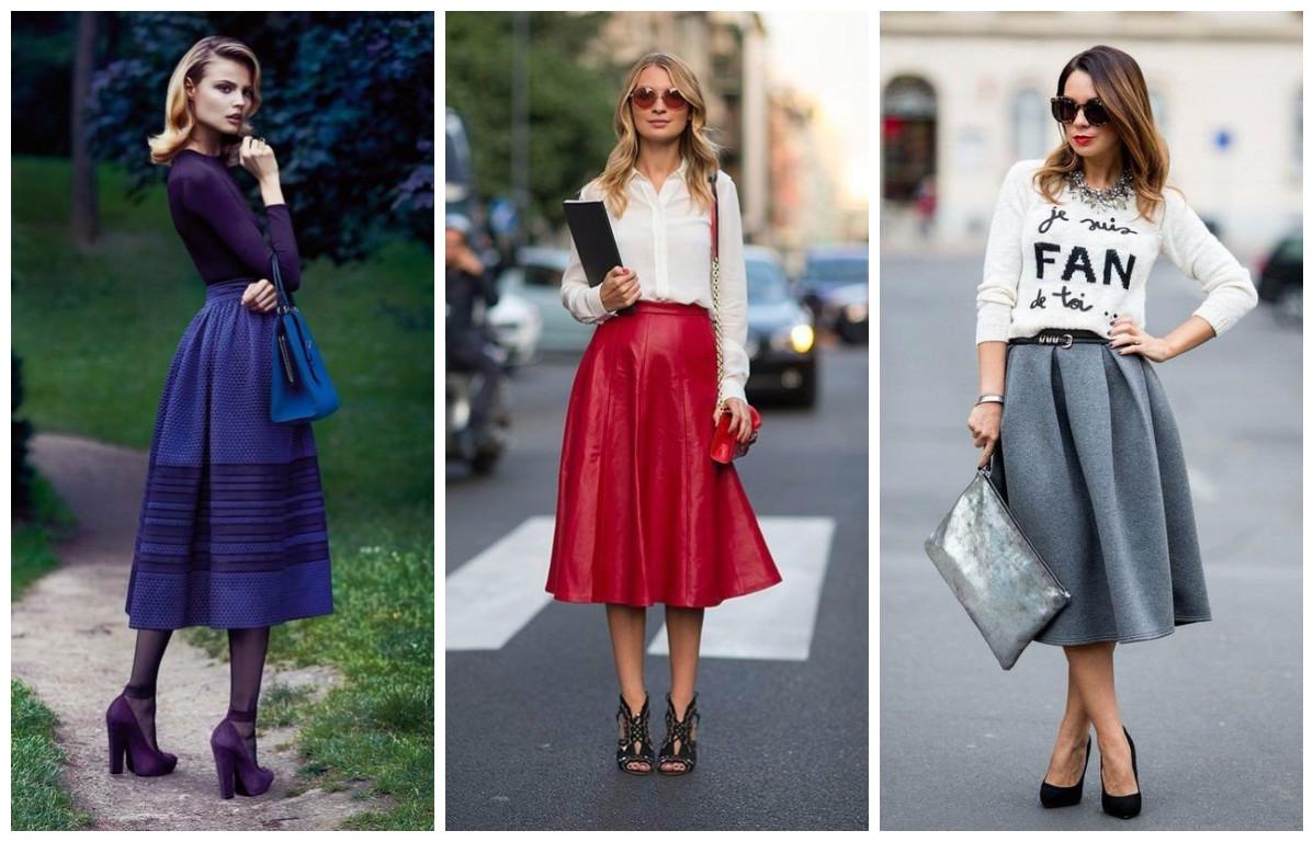 С чем носить разные фасоны юбок: 28 идеальных комбинаций