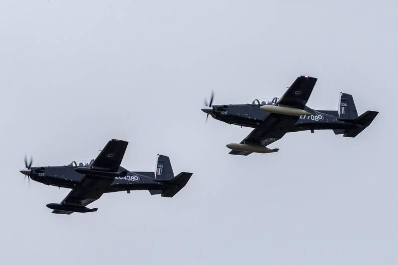 В Британию прибыли первые учебные самолеты Texan II