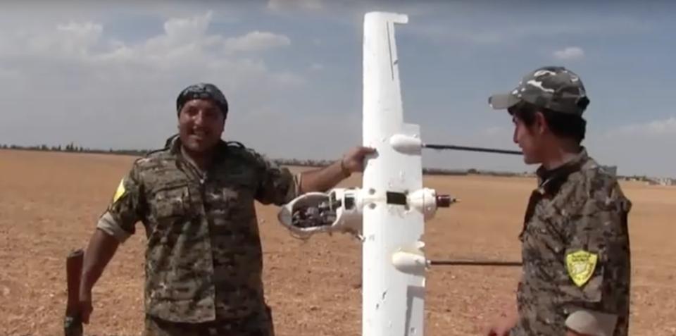Военные новости: война с дронами исламистов