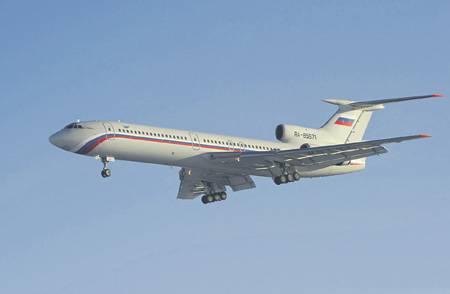 Причины катастрофы летевшего в Сирию Ту-154 остаются неясными