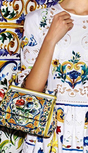 Dolce&Gabbana Lookbook pret-a-porter осень-зима 2016-2017 — «Majolica» (Майолика)