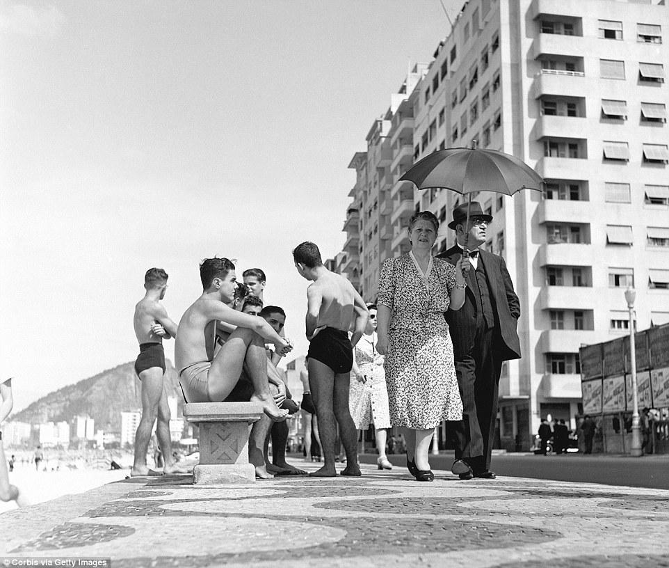 Рио-де-Жанейро в 1940 годах в объективе фотографа Женевьевы Нейлор