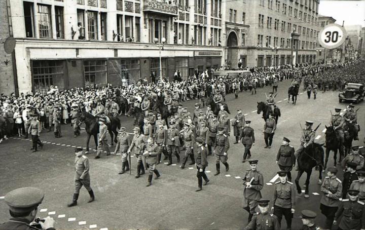 17 июля 1944 года - немецкий «парад» в Москве