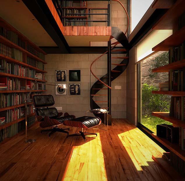 домашние шкафы библиотеки