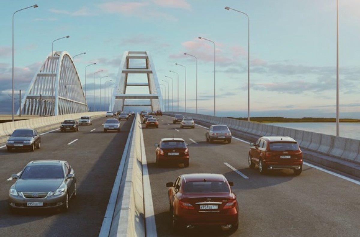 Что нужно знать о проверках водителей на Крымском мосту