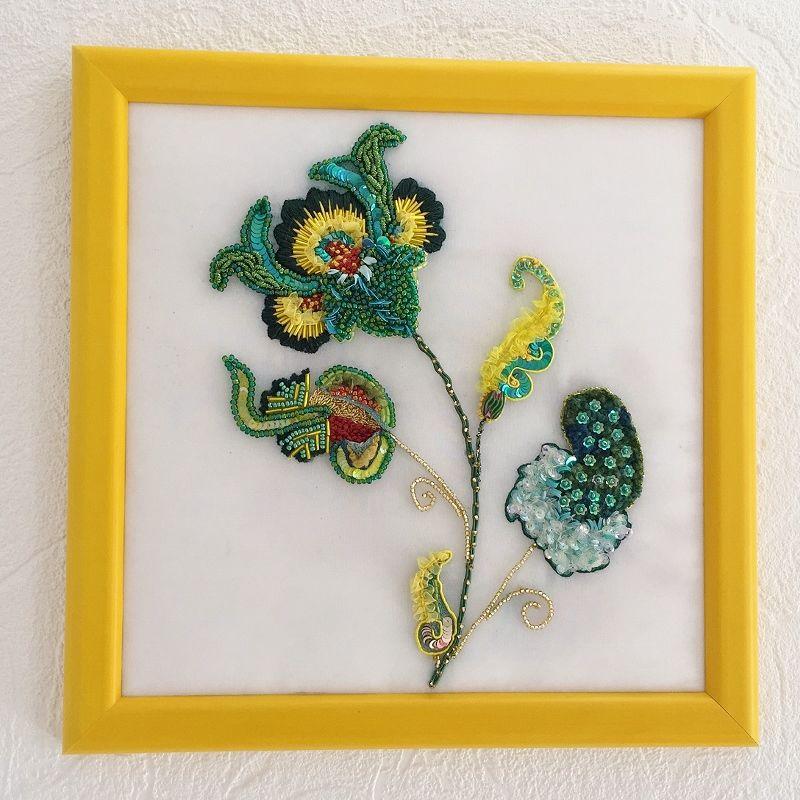 Прекрасная мастерица Caroline Gamb и ее школа вышивания Broderie d'art
