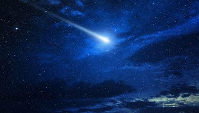 Содом, разрушенный метеоритом.