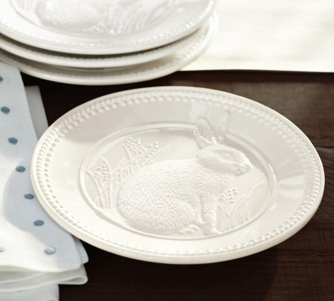 Классический Салатные и десертные тарелки by Pottery Barn