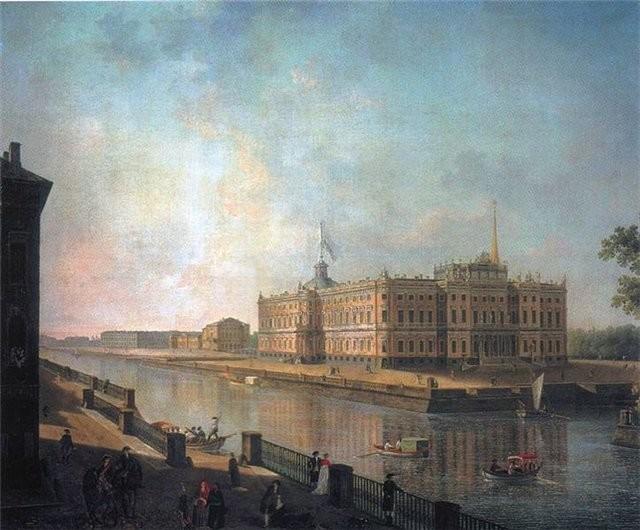 Подземные ходы Михайловского замка Санкт - Петербург, подземные ходы