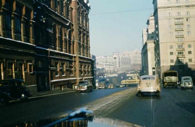 Советские дороги 1950-х глазами американца