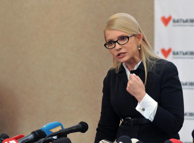 Тимошенко: Если бы Трампа можно было поймать у туалета, там стоял бы весь мир