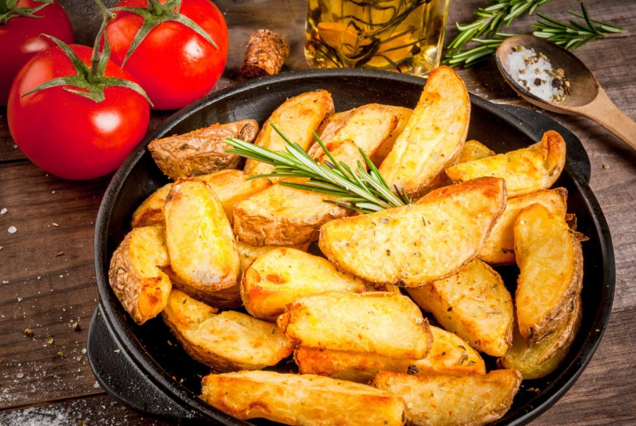Крестьянская картошка: 4 мак…