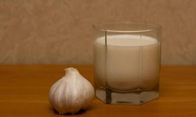 Чеснок в молоке - рецепт  долголетия