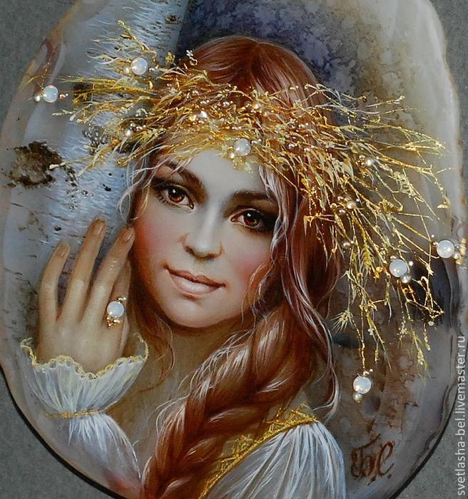 Сказочные работы Светланы  Беловодовой - лаковая миниатюрная живопись