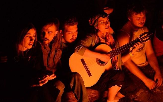 Радик, Лена и гитара…