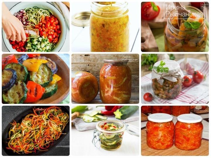 Вкусные рецепты салата из кабачков на зиму с подробностями