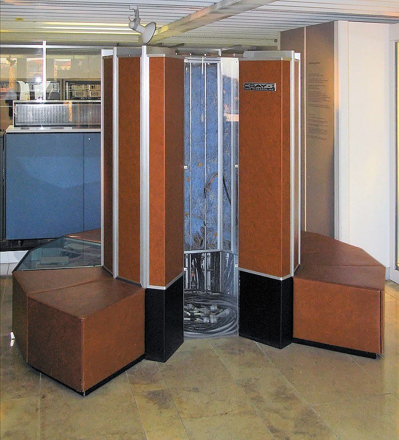 Суперкомпьютер Cray-1 история, компьютер, оргтехника, своими руками, сделай сам, факты
