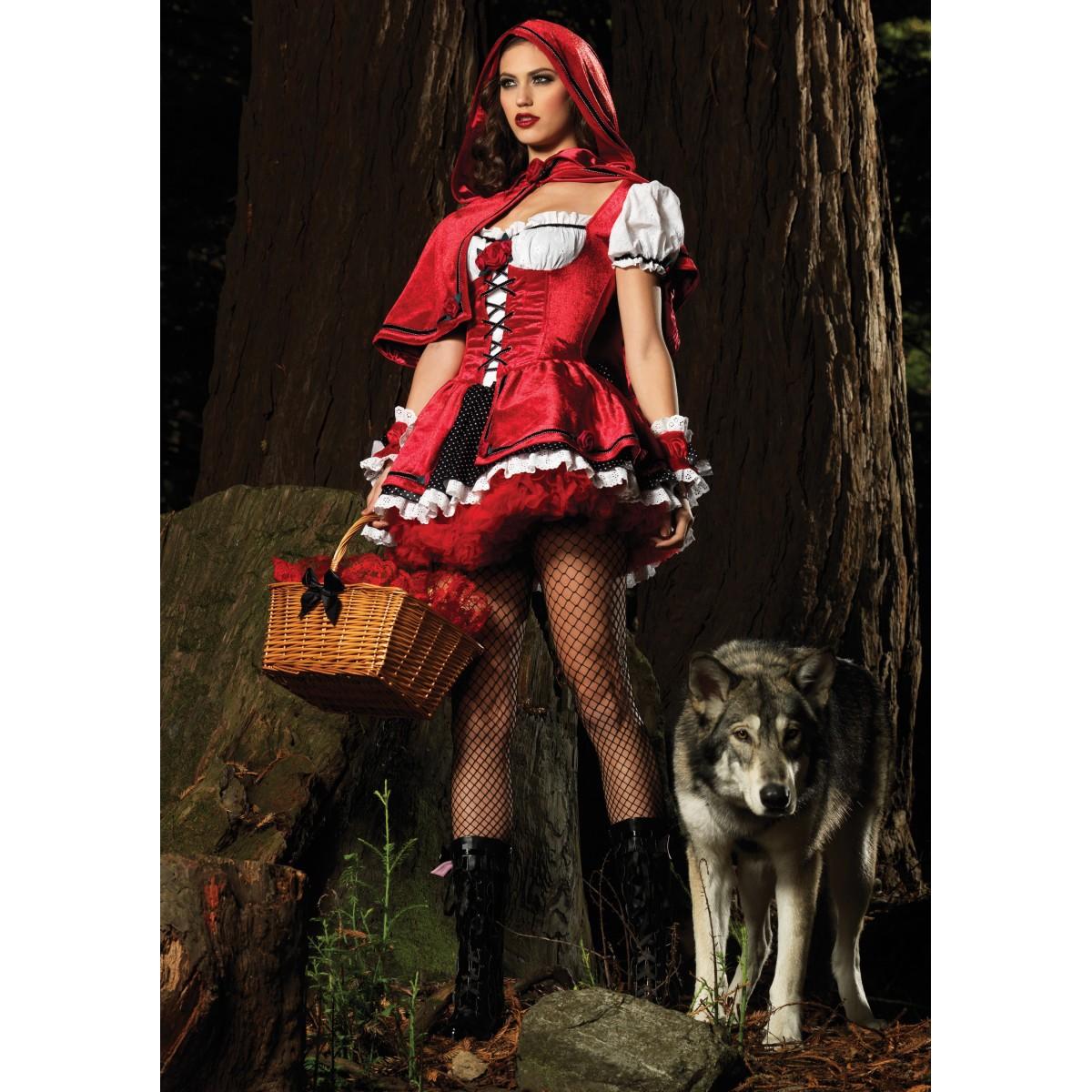 Волки! Будьте осторожны, по лесу бродят одинокие Красные Шапочки!... Улыбнемся)))