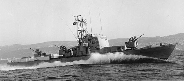 История израильского угона французских кораблей