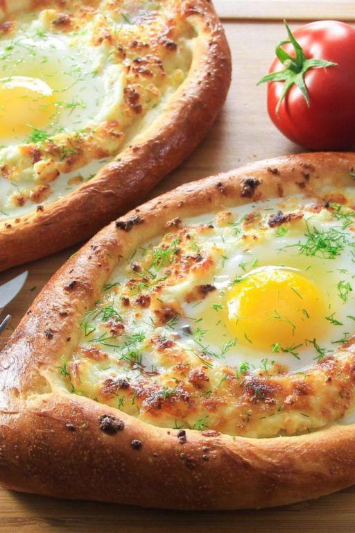 Хачапури с сыром на кефире: рецепт с фото