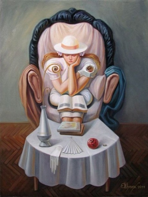 Сальвадор Дали. (2011). Автор: Олег Шупляк. ¦ Фото: livejournal.com.