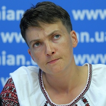 Савченко: Украинская власть - враг своему же народу