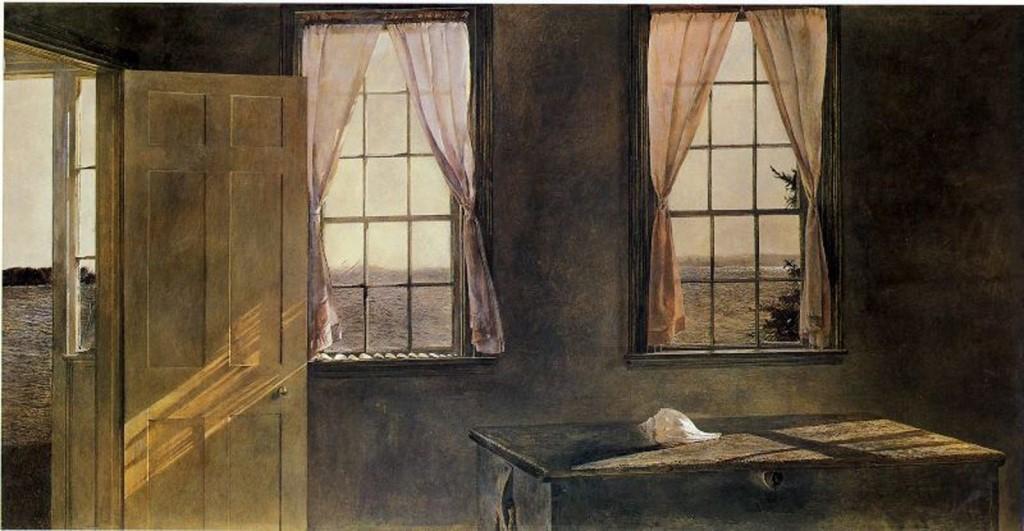 «Для меня важно сохранить долю тайны внутри картины…» Американский художник Andrew Wyeth (1917 — 2009)