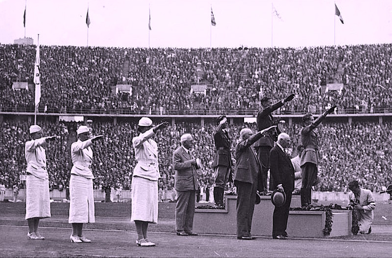 Олимпиада под крылом Гитлера
