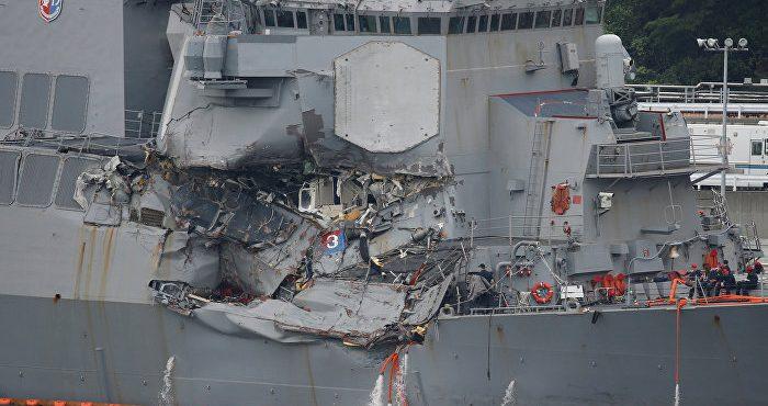 Американских военных моряков погубила «профессиональная халатность»