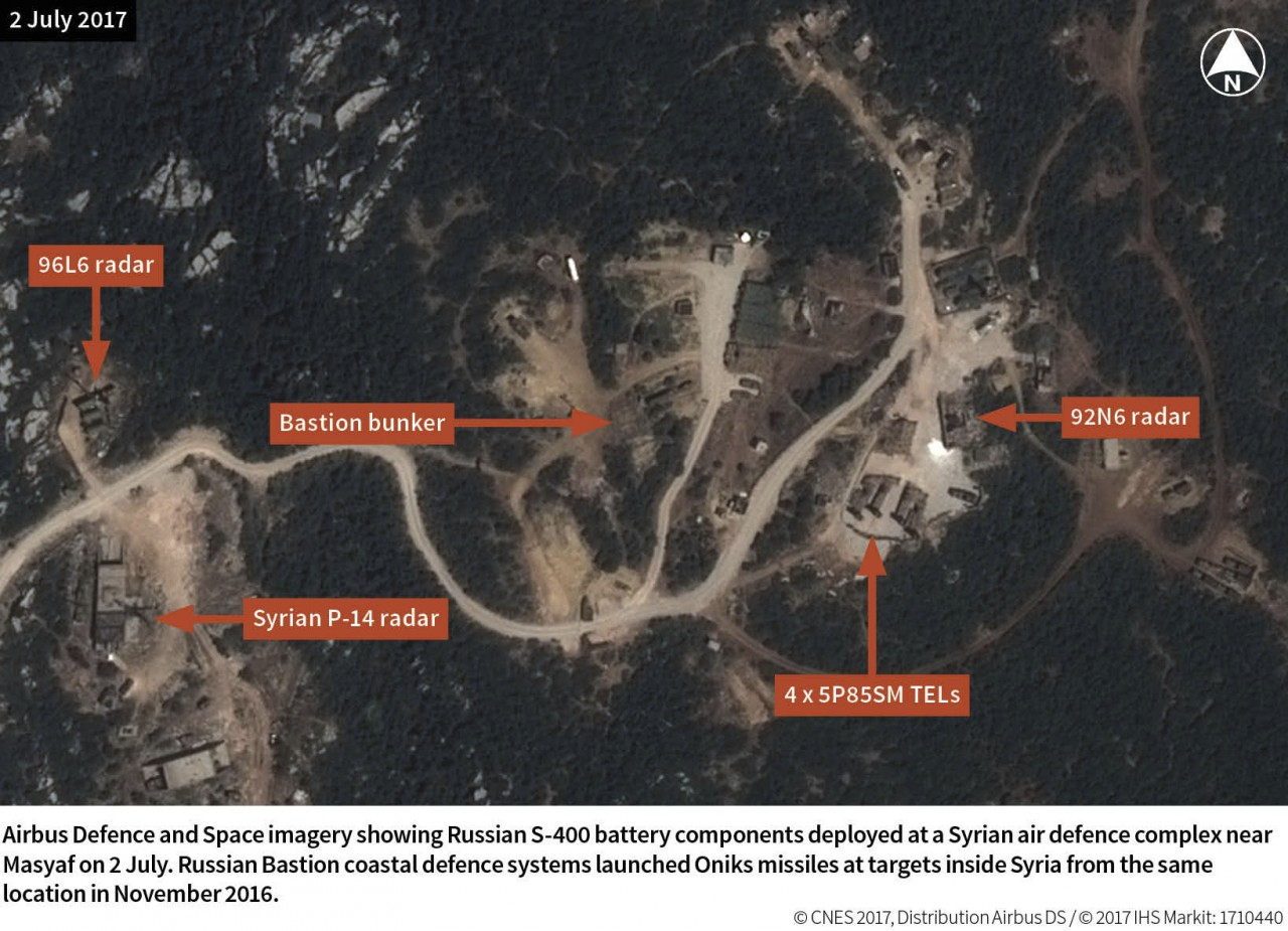 Россия развернула в Сирии второй дивизион зенитной ракетной системы С-400