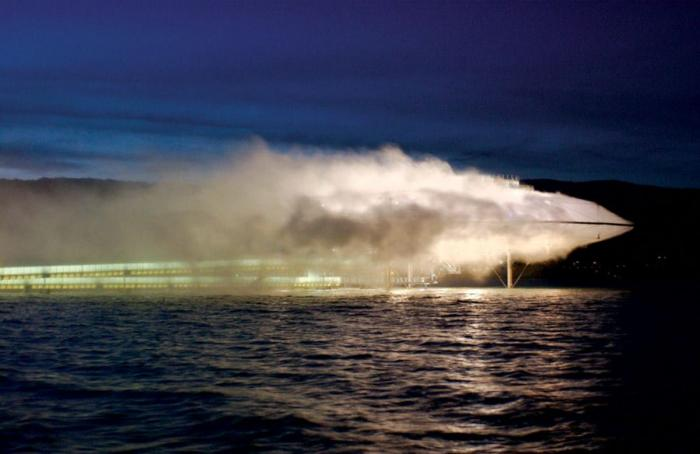 Здание из тумана - Blur Building (5 фото)