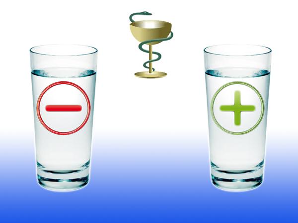 Лечение болезней живой и мертвой водой