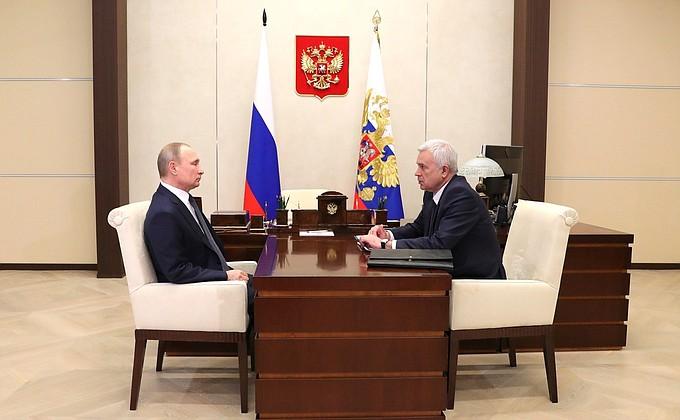 Встреча с президентом компании «ЛУКОЙЛ» Вагитом Алекперовым - НОВОСТИ НЕДЕЛИ