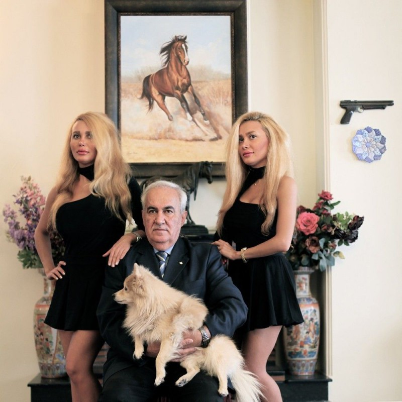 «Иранские отцы и дочери»: опровергающая стереотипы фотосерия