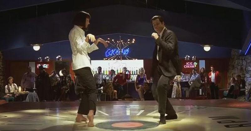 Легендарный танец из «Криминального чтива». Как вам выступление Умы Турман и Джона Траволты?