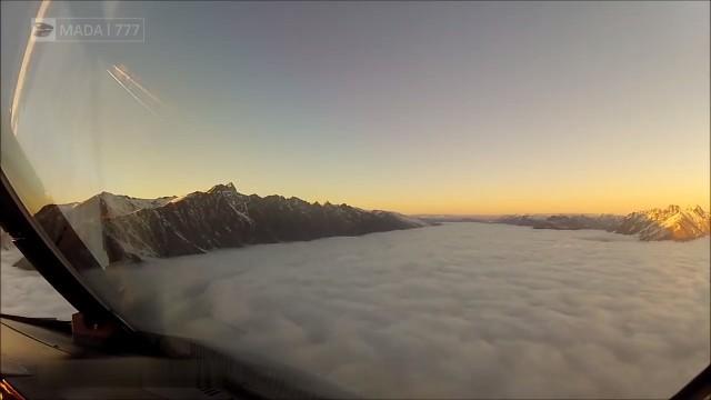 Пилот показал то, что обычно не видят простые пассажиры