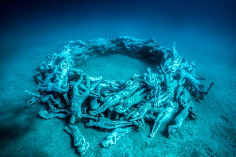 Первый подводный музей Европы открылся в Ланcароте