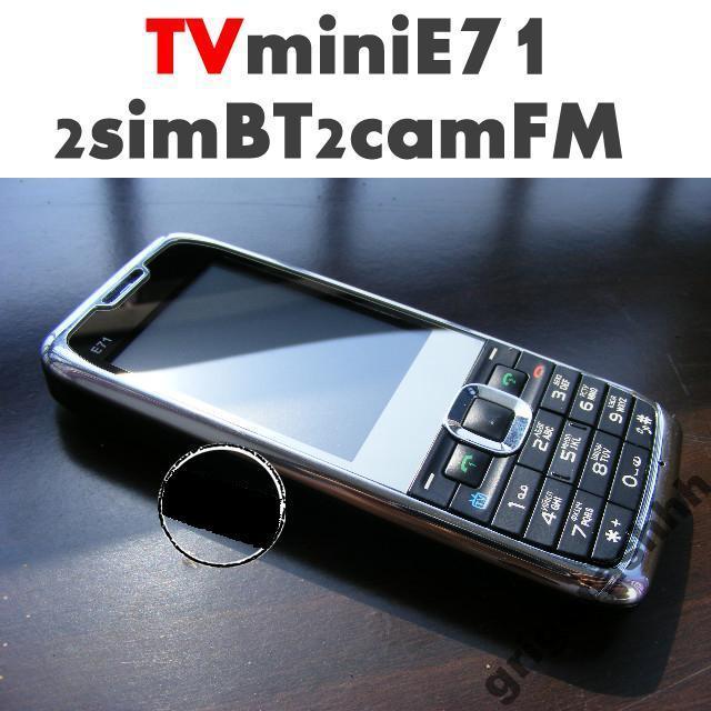 Китайский Е71 с tv и 2сим.