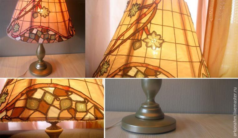 Реставрация старой лампы