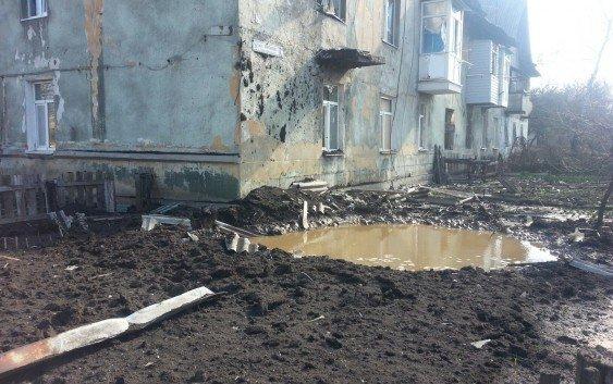 Ночью ВСУ открыли огонь изарторудий поцентру Горловки