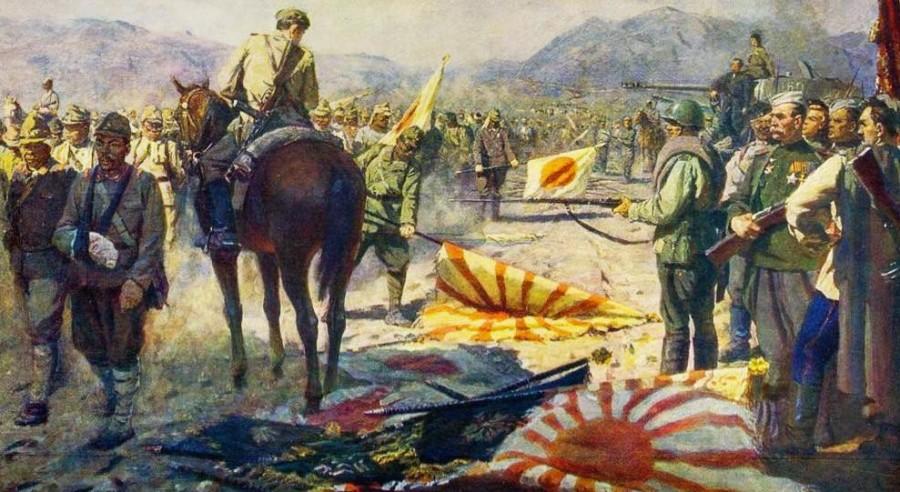 Кто кого: самурайский штык против русской пули