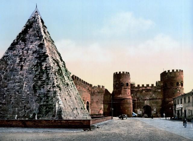 Рим в цветных открытках 1890…