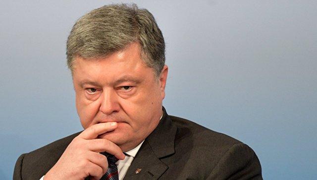 """Порошенко не посетил финал """"Евровидения"""" из-за обстрела Авдеевки"""