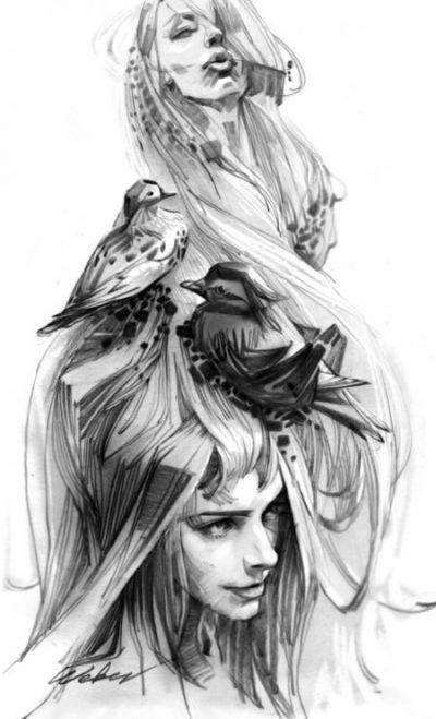 художник Zhang Weber графика – 19