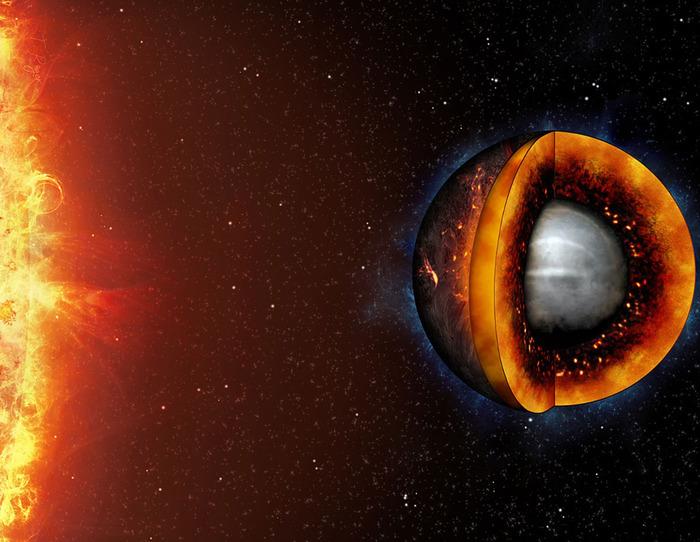 Если бы Земля была жидкой, ее было бы легче обнаружить на расстоянии