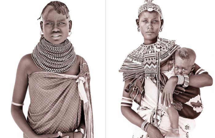 «Линии, ведущие к совершенству»: ускользающая красота племенных жителей Чёрного континента