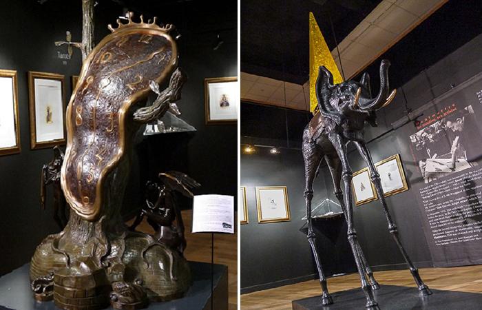 Сюрреализм Сальвадора Дали в оригинальных восковых скульптурах, перевоплощенных в бронзу