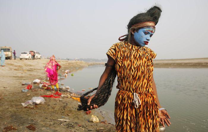 Повседневные кадры из Индии