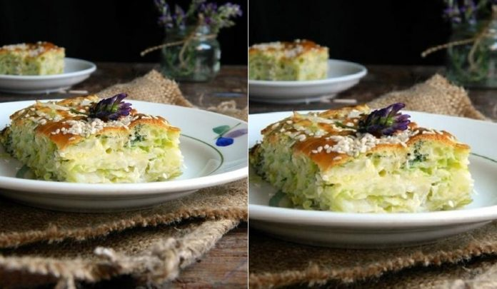 Готовим вкусный пирог из молодой капусты. Попробуйте, не пожалеете!