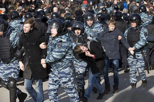 МВД просит людей воздержаться отучастия вакции вМоскве 29апреля